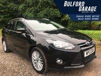 2013 FORD FOCUS 1.0 ZETEC 5d 124 BHP £8491.00