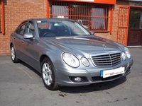 2009 MERCEDES-BENZ E CLASS E220 CDI EXECUTIVE SE 2.1 4d AUTO  £6489.00