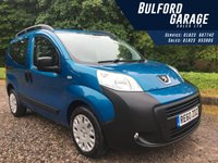 USED 2010 60 PEUGEOT BIPPER 1.2 HDI TEPEE OUTDOOR 5d 75 BHP