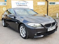 2012 BMW 5 SERIES 2.0 520D M SPORT 4d AUTO 181 BHP £12449.00