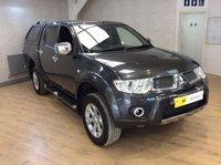 2011 MITSUBISHI L200 2.5 DI-D 4X4 BARBARIAN LB DCB 1d AUTO 175 BHP £12495.00