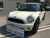 2009 MINI HATCH FIRST 1.4 FIRST 3d 75 BHP £3295.00