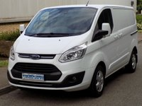 2016 FORD TRANSIT CUSTOM LIMITED L1H1 270 SWB LOW ROOF 2.0 130BHP EURO 6 £14995.00