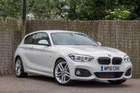 2015 BMW 1 SERIES 2.0 120D M SPORT 3d 188 BHP £14000.00
