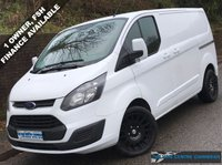 USED 2015 64 FORD TRANSIT CUSTOM L1H1 290 SWB LOW ROOF 2.2 100BHP 1 Owner, Full Service History