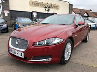 2011 JAGUAR XF 2.2 D LUXURY 4d AUTO 190 BHP £8995.00