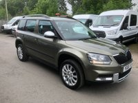 USED 2015 65 SKODA YETI 2.0 OUTDOOR SE BUSINESS TDI SCR 5d 110 BHP