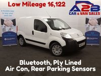 USED 2015 65 CITROEN NEMO ENTERPRISE 1.2 590 HDI 16,122 Miles, Air Con, Bluetooth *Over The Phone Low Rate Finance Available*   *UK Delivery Can Also Be Arranged*           ___       Call us on 01709 866668 or Send us a Text on 07462 824433