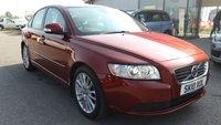 2010 VOLVO S40 1.6 D DRIVE SE LUX 4d 109 BHP £4895.00