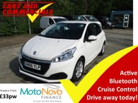 2016 PEUGEOT 208 1.2 Puretech Active 5dr 82ps £7700.00