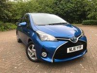 2016 TOYOTA YARIS 1.5 VVT-I ICON M-DRIVE S 5d AUTO 73 BHP £10995.00