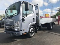 2018 ISUZU TRUCKS GRAFTER New Generation N35.125TT All Alloy 4.29m Alloy Dropside £20750.00