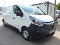 2015 VAUXHALL VIVARO 1.6 2900 L2H1 2900 CDTI, 6 SPEED, ELECTRIC PACK, 1 OWNER £8495.00