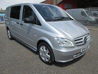 2014 MERCEDES-BENZ VITO 116 CDI DUALINER SPORT AUTO 5 SEAT *AIR CON*NO VAT* £17000.00