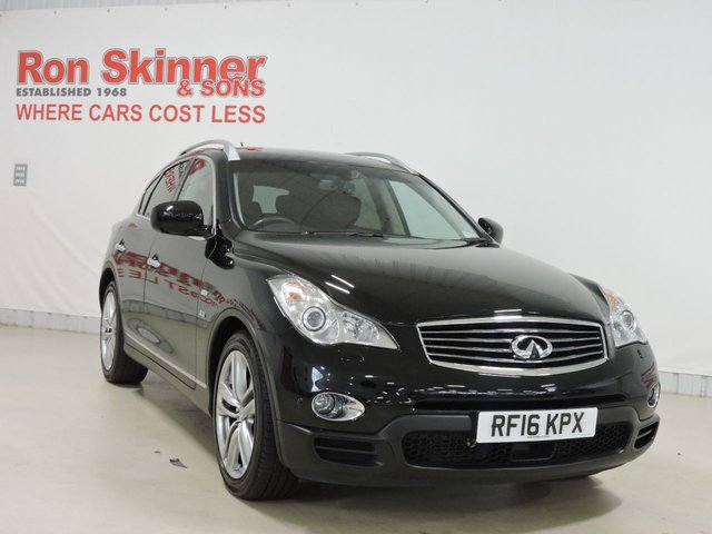 View our 2016 16 INFINITI QX50 3.0 GT D 5d AUTO 235 BHP