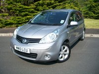 USED 2010 10 NISSAN NOTE 1.4 N-TEC 5d 87 BHP A Rare opportunity to own this highly sought after Nissan Note N-TEC Edition, JUST One Former Careful Meticulous Owner, ONLY 12,000 Miles with Full Nissan Service History!!!