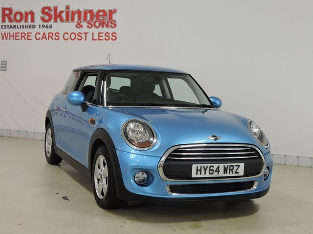View our 2015 64 MINI HATCH ONE 1.2 ONE 3d 101 BHP with Pepper Pack + 15in Alloys