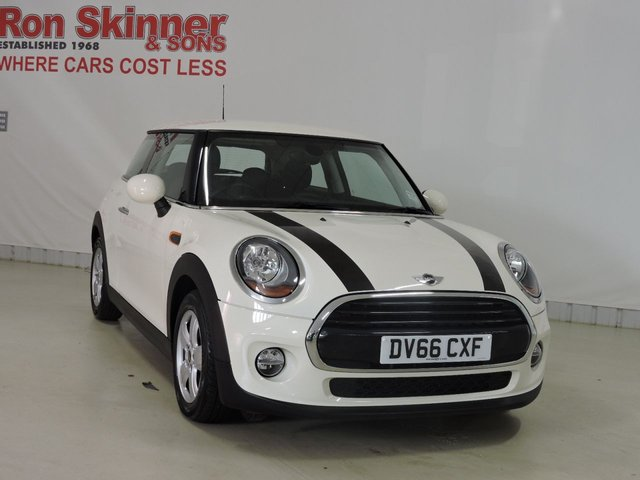View our 2016 66 MINI HATCH COOPER 1.5 COOPER D 3d 114 BHP with Enhanced Bluetooth + Parking Sensors
