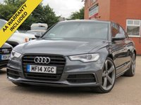 USED 2014 14 AUDI A6 2.0 TDI ULTRA S LINE BLACK EDITION 4d AUTO 188 BHP AUTOMATIC, BOSE SOUND SYSTEM + FULL SERVICE HISTORY