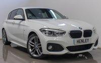 2015 BMW 1 SERIES 2.0 120D M SPORT 5d 188 BHP £13990.00