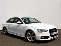 USED 2013 13 AUDI A4 2.0 TDI S LINE 4d AUTO 141 BHP 1 OWNER FROM NEW......