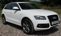 2012 AUDI Q5 2.0 TDI QUATTRO S LINE SPECIAL EDITION 5d 168 BHP £15995.00