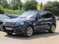 2014 BMW X3 3.0 XDRIVE30D M SPORT 5d AUTO 255 BHP