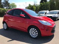 2014 FORD KA 1.2 ZETEC 3d WITH A VERY LOW MILEAGE AND AIRCON  £5000.00