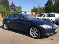 2011 JAGUAR XF 3.0 V6 PREMIUM LUXURY 4d AUTOMATIC WITH FULL LEATHER  £9000.00