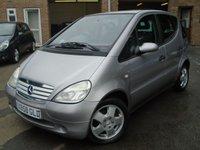 2000 MERCEDES-BENZ A CLASS 1.6 A160 AVANTGARDE 5d AUTO 102 BHP £995.00