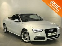 2014 AUDI A5 1.8 TFSI S LINE SPECIAL EDITION 2d AUTO 168 BHP £20497.00