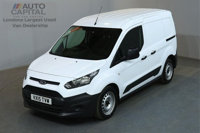 2015 15 FORD TRANSIT CONNECT 1.6 200 74 BHP L1 H1 SWB LOW ROOF ONE OWNER FROM NEW, MOT UNTIL 26/06/2019