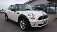 2008 MINI HATCH ONE 1.4 ONE 3d 94 BHP £4195.00