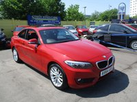 USED 2014 64 BMW 2 SERIES 2.0 220I SE 2d 181 BHP ABSOLUTELY STUNNING LOW MILEAGE EXAMPLE !!