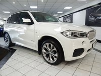 USED 2014 64 BMW X5 3.0 XDRIVE 40D M SPORT AUTO 309 BHP 1 OWNER VAT Q FBMWSH COMF SEAT