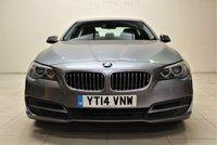 USED 2014 14 BMW 5 SERIES 2.0 518D SE 4d AUTO 141 BHP + 1 OWNER +  SAT NAV + AIR CON + AUX + BLUETOOTH