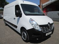 2015 RENAULT MASTER LM35 DCi 125 Business LWB L3 H2 *BLUETOOTH*REAR PDC* £9500.00