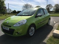 2009 RENAULT CLIO 1.1 I-MUSIC 37000 MILES VERY CLEAN CAR MUST BE VIEWED  £3295.00