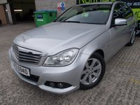 USED 2012 MERCEDES-BENZ C CLASS 1.8 C180 BLUEEFFICIENCY SE 4d AUTO 155 BHP Excellent Order, Finance Available, No Fees and No Deposit Necessary