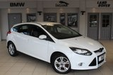 USED 2013 13 FORD FOCUS 1.6 ZETEC ECONETIC TDCI 5d 104 BHP FULL SERVICE HISTORY + FREE ROAD TAX + 16 INCH ALLOYS + AIR CONDITIONING + HIGH MPG + LOW RUNNING COSTS
