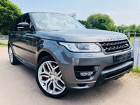 2014 LAND ROVER RANGE ROVER SPORT 3.0 SDV6 AUTOBIOGRAPHY DYNAMIC 5d AUTO 288 BHP £47750.00
