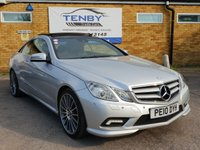 2010 MERCEDES-BENZ E CLASS 3.0 E350 CDI BLUEEFFICIENCY SPORT 2d AUTO 231 BHP £10584.00