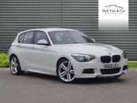 2012 BMW 1 SERIES 2.0 116D M SPORT 5d 114 BHP £9695.00