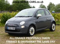 2013 FIAT 500 1.2 COLOUR THERAPY 3d 69 BHP £5395.00
