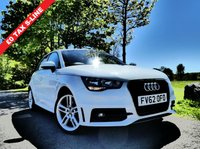 USED 2012 62 AUDI A1 1.6 TDI S line Sportback 5dr £0 Tax 1/2 leather Stunning