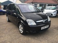 USED 2007 57 VAUXHALL MERIVA 1.4 ENERGY 16V 5d 90 BHP ** NOW SOLD ** NOW SOLD **