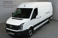 USED 2014 64 VOLKSWAGEN CRAFTER 2.0 CR35 135 BHP LWB HIGH ROOF ONE OWNER FROM NEW, SERVICE HISTORY