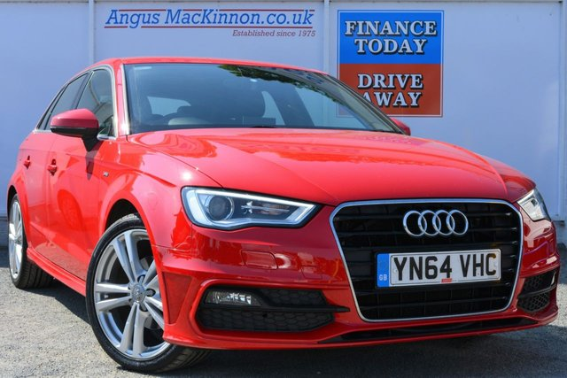 2014 64 AUDI A3 2.0 TDI S LINE 5d Family Hatchback with Low Road Tax and High 69mpg