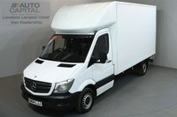 USED 2015 64 MERCEDES-BENZ SPRINTER 2.1 313 129 BHP LWB LUTON VAN ONE OWNER FROM NEW, SERVICE HISTORY
