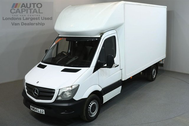2015 64 MERCEDES-BENZ SPRINTER 2.1 313 129 BHP LWB LUTON VAN ONE OWNER FROM NEW, SERVICE HISTORY